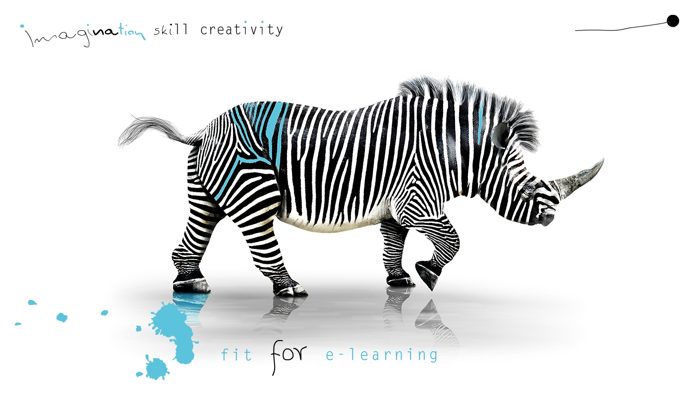 imagination, skill, creativity, tame e-learning